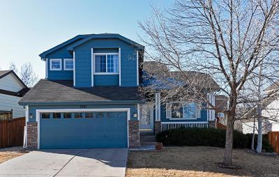Castle Rock Single Family Home Active: 3281 Blue Grass Circle