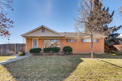 Northglenn Single Family Home Active: 428 Emery Road
