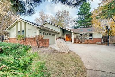 Arvada Single Family Home Under Contract: 7704 Lewis Street