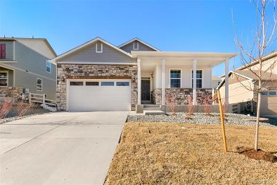 Castle Rock Single Family Home Under Contract: 2099 Shadow Rider Circle