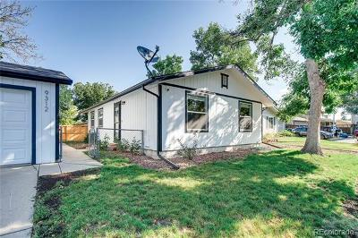 Westminster Single Family Home Active: 9312 Kendall Street