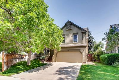 Castle Rock Single Family Home Under Contract: 170 North Carlton Street