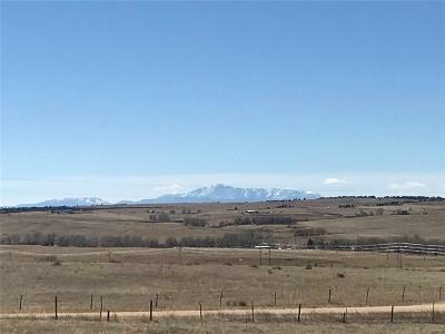 Kiowa Residential Lots & Land Active: Kiowa Bennett Road