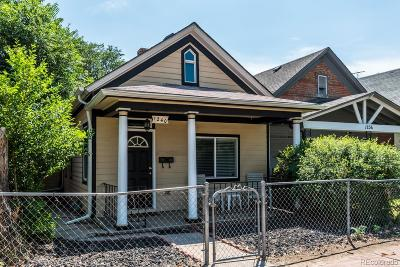 Denver Single Family Home Active: 1240 Kalamath Street