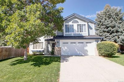 Westminster Single Family Home Active: 10109 Garrison Street