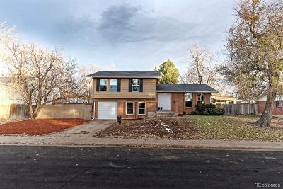 Denver Single Family Home Active: 4844 Scranton Court