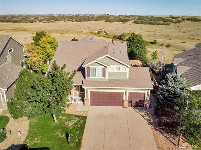 Castle Rock Single Family Home Active: 1725 Baguette Drive
