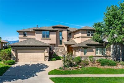 Pine Creek Single Family Home Under Contract: 10126 Palisade Ridge Drive