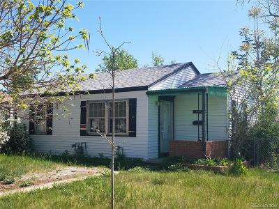 Denver Single Family Home Active: 4900 Tejon Street