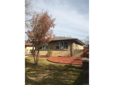 Aurora Single Family Home Active: 1708 Florence Street