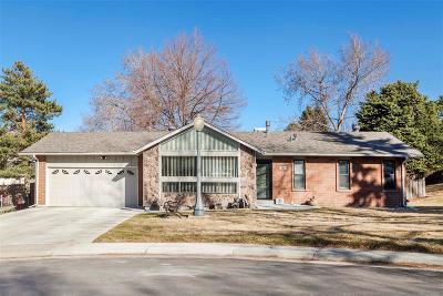 Golden CO Single Family Home Active: $500,000