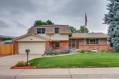 Centennial Single Family Home Under Contract: 6246 South Ash Circle