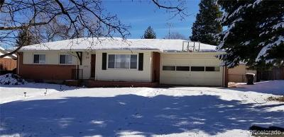 Lakewood CO Single Family Home Active: $435,000