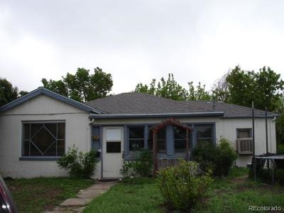 Denver Single Family Home Active: 430 Quitman Street
