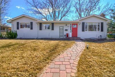 Arapahoe County Single Family Home Active: 2068 East Floyd Place