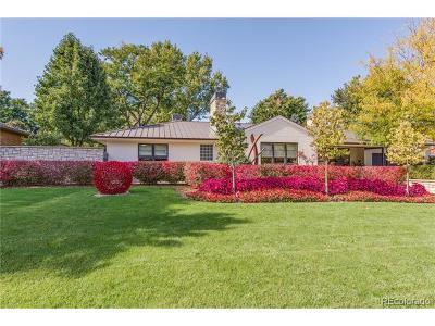 Denver Single Family Home Active: 919 South Garfield Street