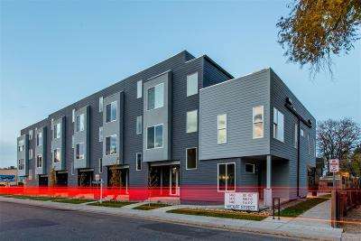 Denver Condo/Townhouse Active: 1480 Wolff Street #116