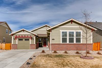 Castle Rock Single Family Home Under Contract: 2673 Red Bird Trail