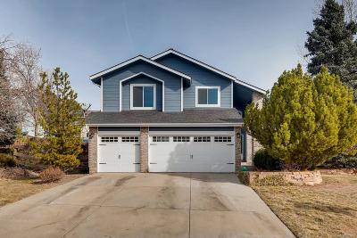 Highlands Ranch Single Family Home Under Contract: 1344 Shadow Mountain Drive