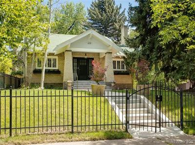 Denver Single Family Home Active: 600 Saint Paul Street