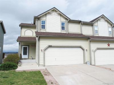 Castle Rock Condo/Townhouse Under Contract: 1445 Willow Oak Road