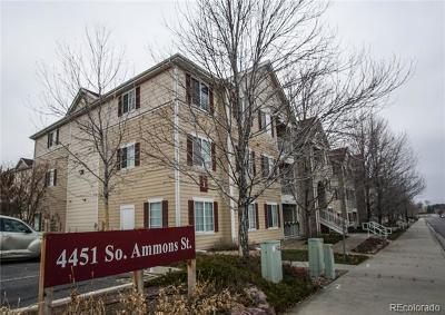 Littleton Condo/Townhouse Active: 4451 South Ammons Street #101