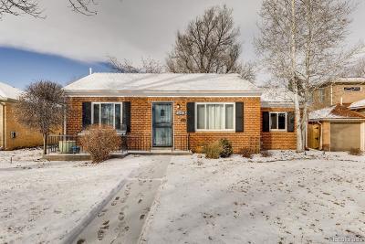 Denver County Single Family Home Active: 1371 Holly Street