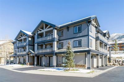 Steamboat Springs CO Condo/Townhouse Active: $435,000