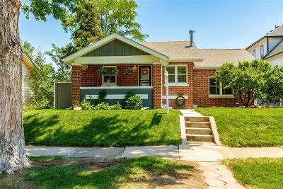 Denver Single Family Home Under Contract: 2164 South Corona Street