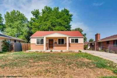 Denver Single Family Home Under Contract: 1155 South Clay Street