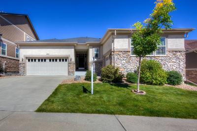 Castle Rock Single Family Home Under Contract: 597 Scottish Place