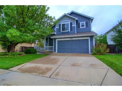 Broomfield Single Family Home Under Contract: 4582 West 123rd Place