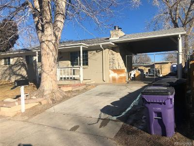 Denver Single Family Home Under Contract: 5526 Scranton Street
