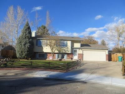 Broomfield Single Family Home Under Contract: 12570 Meade Court