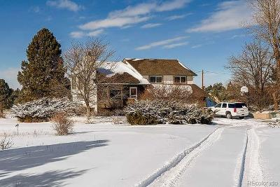 Parker Single Family Home Under Contract: 12411 Homestake Lane