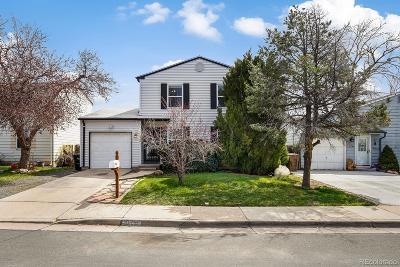 Westminster Single Family Home Active: 10750 Moore Street