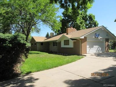 Arvada Single Family Home Active: 7900 Lee Street