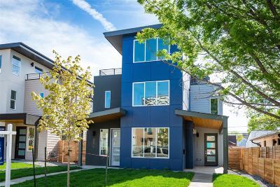 Denver Condo/Townhouse Active: 1570 Wolff Street