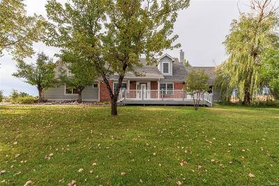Strasburg Single Family Home Under Contract: 52100 East 16th Avenue