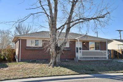 Northglenn Single Family Home Under Contract: 1902 East 116th Place