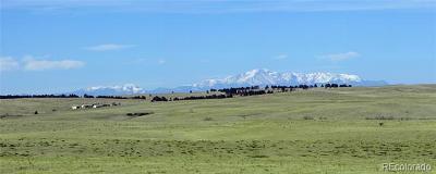 Kiowa CO Residential Lots & Land Active: $139,900