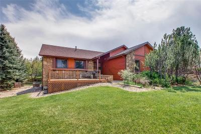 Parker Single Family Home Under Contract: 8966 Sunridge Hollow Road