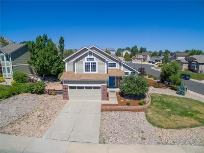 Castle Rock Single Family Home Under Contract: 1653 Marsh Hawk Circle