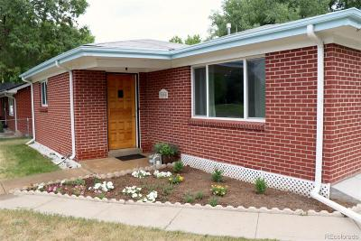 Single Family Home Under Contract: 7890 West 59th Avenue