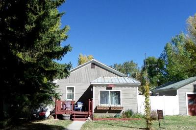 Routt County Single Family Home Under Contract: 327 Myers Street