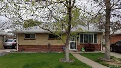 Adams County Single Family Home Under Contract: 7020 Dexter Street