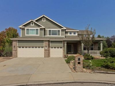 Longmont Single Family Home Under Contract: 1953 Chadwyck Court