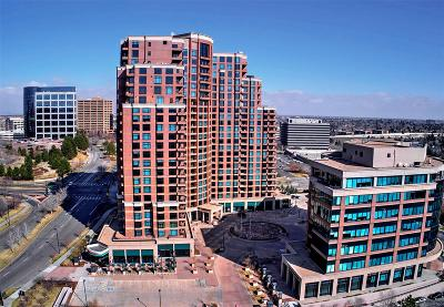 Denver Condo/Townhouse Active: 8100 East Union Avenue #2102