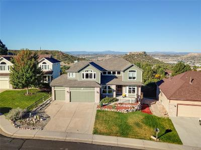 Castle Rock Single Family Home Active: 1511 Quail Lane
