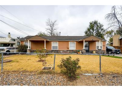 Commerce City Single Family Home Active: 7045 Kearney Court